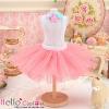 154.【PC-11】Blythe/Pullip Tulle Ball Mini Skirt # Hot Pink