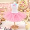 155.【PC-12】Blythe/Pullip Tulle Ball Mini Skirt # Rose Pink