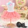 191.【PD-20】Blythe/Pullip Tulle Cake Mini Skirt # Hot Pink