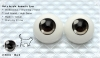 22mm/Meta Acrylic Animetic Eyes (RD-01) Black