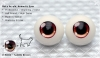 22mm/Meta Acrylic Animetic Eyes (RD-02) Saddle Brown