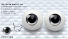 22mm/Meta Acrylic Animetic Eyes (RD-03) Grey