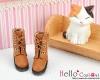 【04-05】B/P Short Shoes.Pale Brown