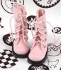 【13-07】B/P Boots.Pink