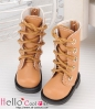 【13-09】B/P Boots.Pale Brown