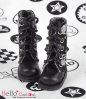 【13-10】B/P Boots.Skeleton Silver