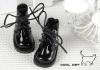 【15-11】B/P Short Shoes.Shiny Black