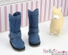【19-10N】B/P Boots.Steel Blue