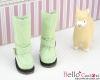 【19-14N】B/P Boots.Pale Green