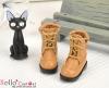 【28-6】B/P Short Shoes.Khaki