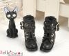 【29-2】B/P Short Shoes.Black