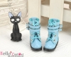 【29-6】B/P Short Shoes.SkyBlue