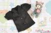 414.【S2】Blythe/Pullip Puffed Sleeves Blouse/Shirt # Black