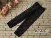 H76.【ST-07】SD/DD Cropped Pants # Mid Net Black