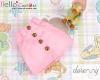 322.【PH-4】Blythe/Pullip A-line Mini Skirt With Pocket # Pink