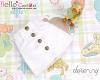 262.【PH-2】Blythe/Pullip A-line Mini Skirt With Pocket # White
