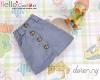 263.【PH-3】Blythe/Pullip A-line Mini Skirt With Pocket # Blue