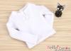 J52.【TE-1】Taeyang Long Sleeves Tee(2-Buttons)# White