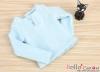 J56.【TE-5】Taeyang Long Sleeves Tee(2-Buttons)# Sky Blue