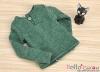 J57.【TE-6】Taeyang Long Sleeves Tee(2-Buttons)# Green